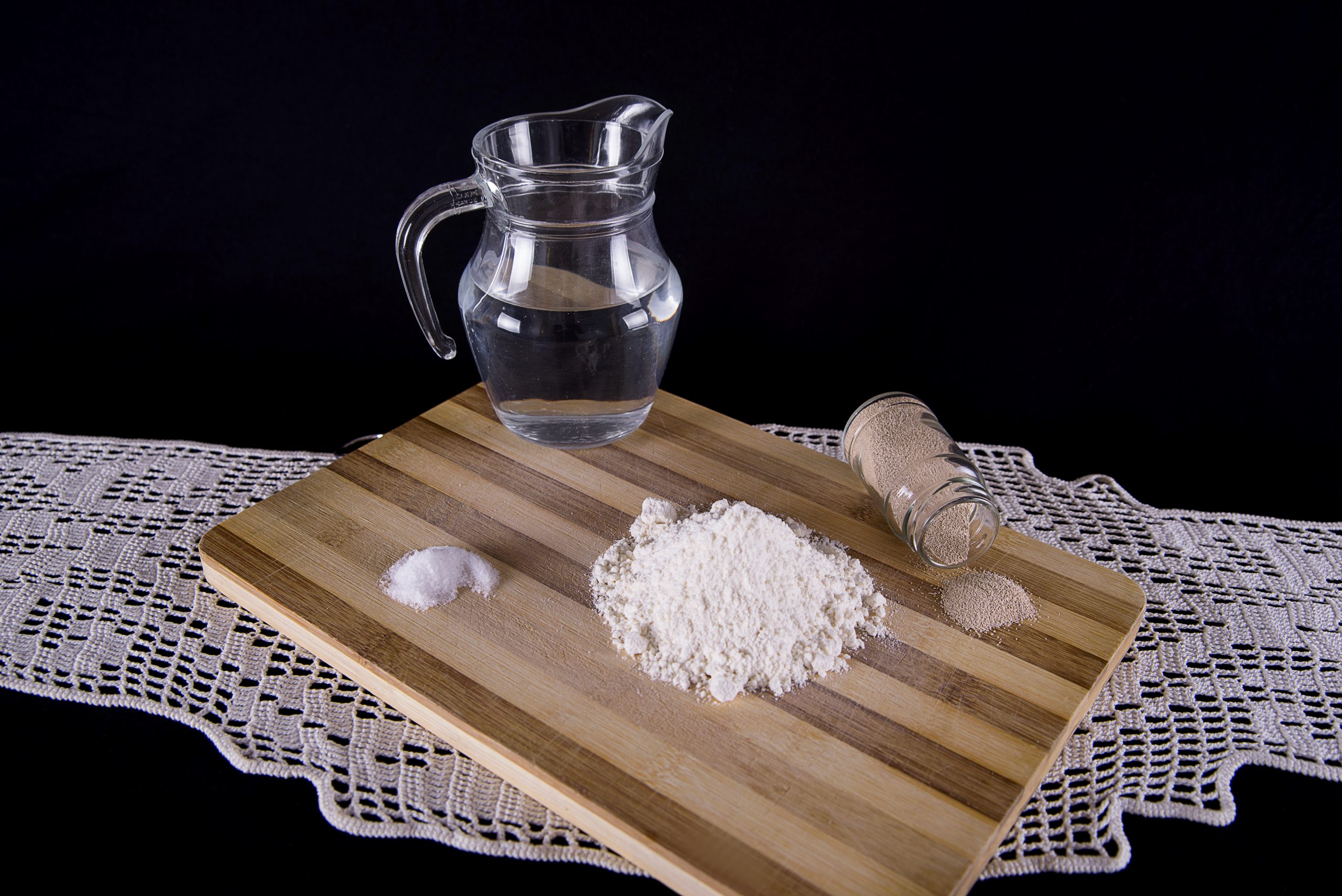 Ingredientes para el Pan.