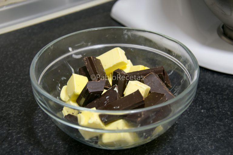 Chocolate y mantequilla.