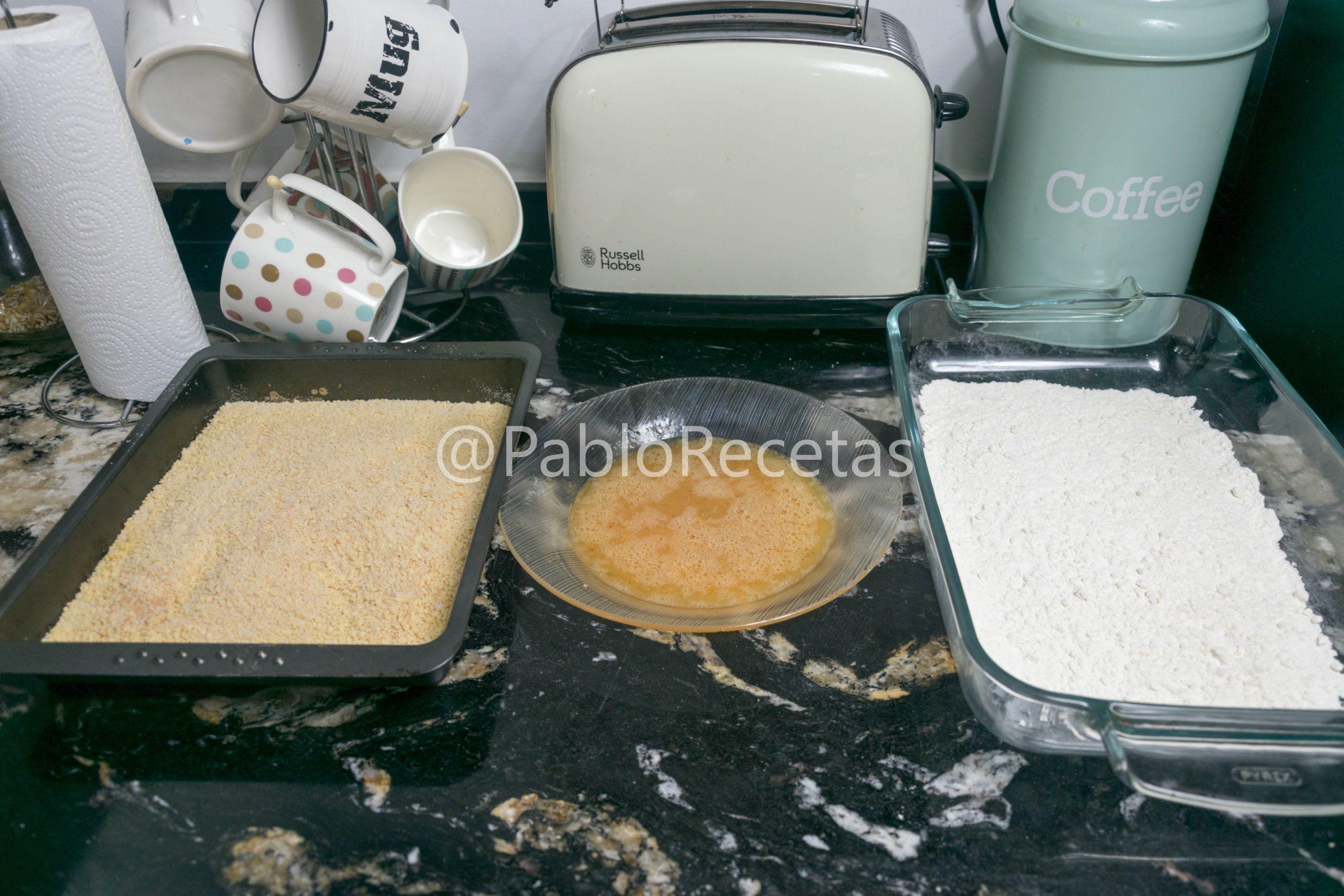 Preparación de empanado.