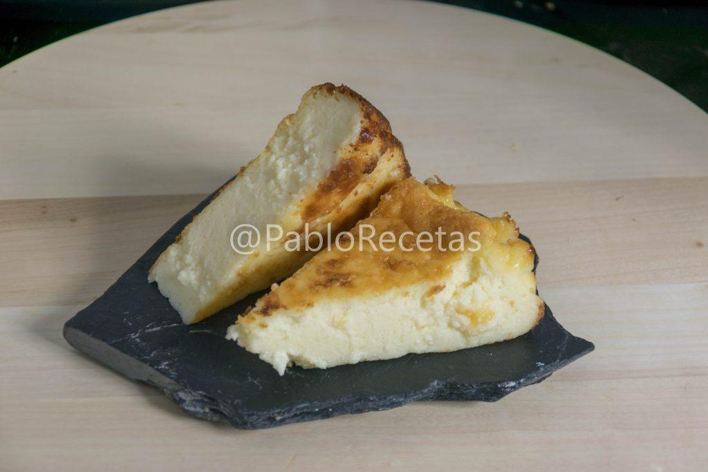 Tarta de queso.